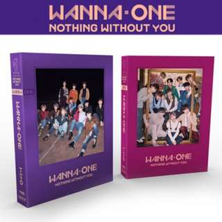 Kpop Wanna One Nothing Without You Album