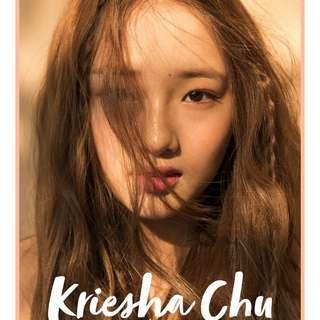Kpop Kriesha Chu 1st Single Album