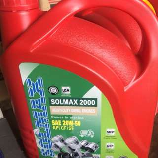 Solmax 10-40w engine oil