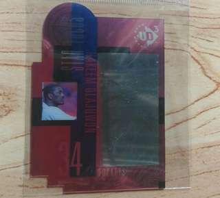 Upper Deck (3) Hakeem Olajuwon card
