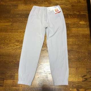 Brand new Uniqlo kids light grey warm lined fleece pants for boy and girl
