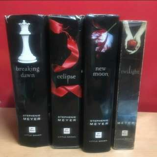 For swap: Twilight complete series set