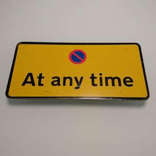 (包送貨)英國製當地路牌Road sign