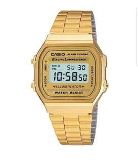 CASIO MEN'S DIGITAL VINTAGE WATCH