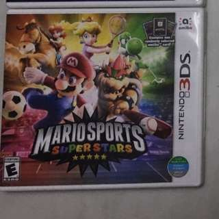 Nintendo 3DS Mario Sports Superstars
