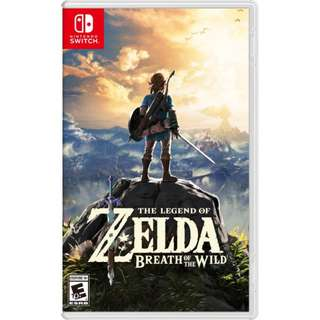 Zelda BOTW Nintendo Switch