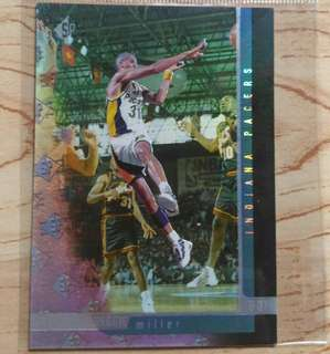 Upper Deck Reggie Miller card