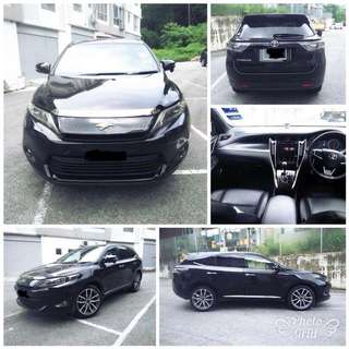 SAMBUNG BAYAR/CONTINUE LOAN  TOYOTA HARRIER 2.0 AUTO YEAR 2014/2015 MONTHLY RM 2300 BALANCE 5 YEARS LEATHER SEAT NEW FACELIFT TIPTOP CONDITION  DP KLIK wasap.my/60133524312/harrier
