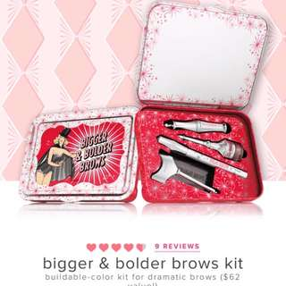 Benefit eyebrow kit
