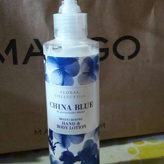 🌹 M&S China Blue Hand & Body Lotion
