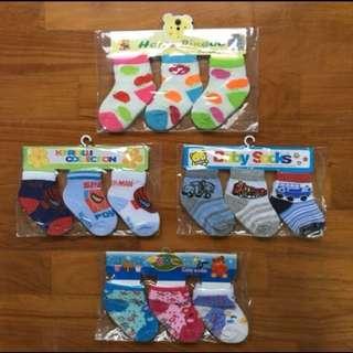 Cute Baby Socks (6-12 months)