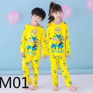 Minion Kids Pyjamas(4y To 15y)