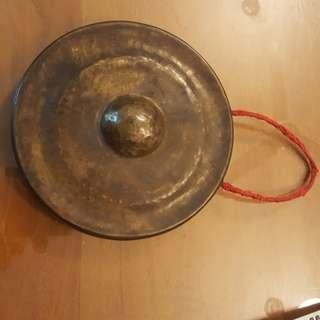 Old bronze gongs