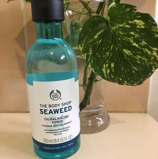 The body shop seaweed toner