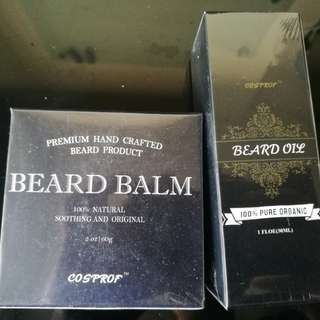 Beard Balm & Oil set
