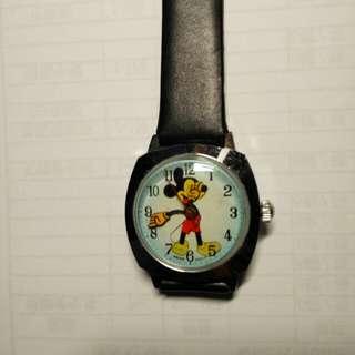 70年代米奇老鼠上鏈手錶