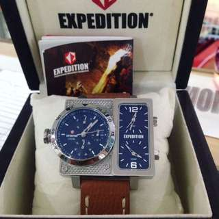 EXPEDITION WATCH E6637 TRIPLE TIME