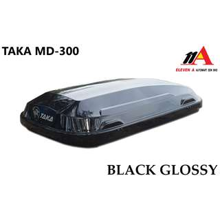 TAKA MD-300 Roofbox Super Slim 32cm Height Black Glossy
