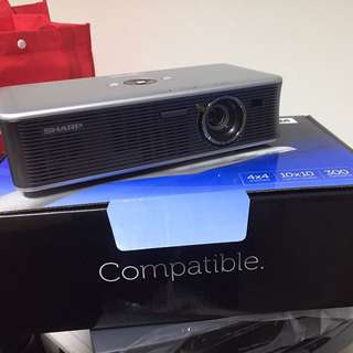 sharp notevision projector xr-1s clearance