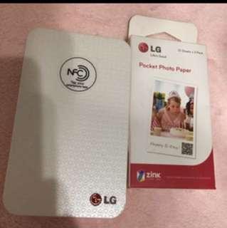 LG 相片打印機
