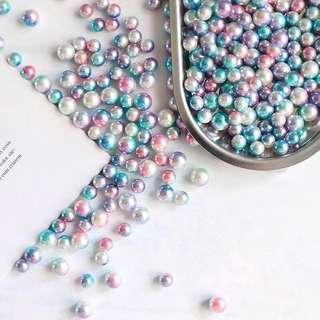 PO Mermaid Rainbow Pearls Photo Prop