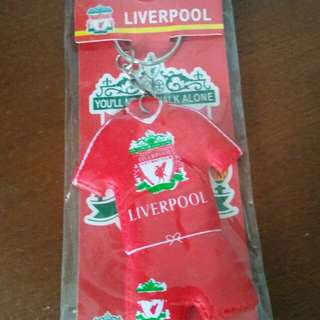 NEW COLLECTABLE KEYCHAIN LIVERPOOL (1) RED , FOOTBALL CLUB, SOCCER