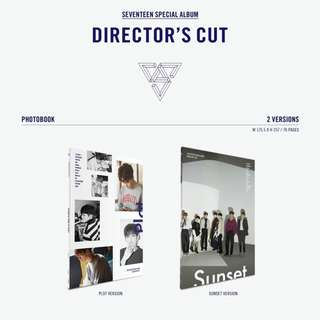 [SET] SEVENTEEN SPECIAL ALBUM - DIRECTOR'S CUT