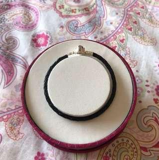 Emma & Roe/ Michael Hill leather bracelet
