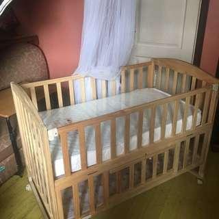Baby Dino Cradle Crib