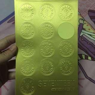 WTS Seventeen 4th mini album stickers
