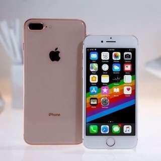 iphone 8 Kredit Tanpa kartu kredit Bonus tempredglass dan sofecase nya