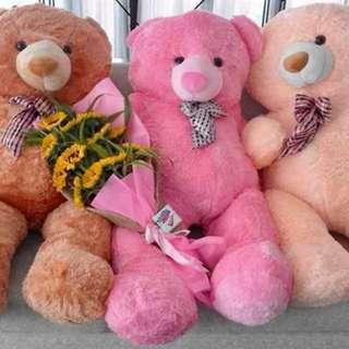 Life size teddy bear
