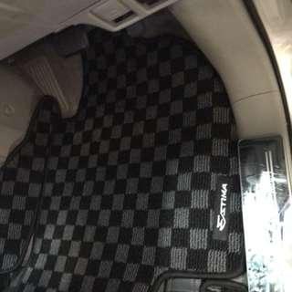 Toyota estima checker car mat