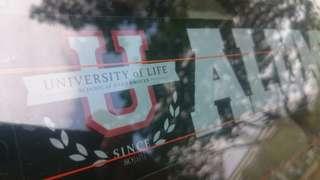 'FAKE' University Alumni ;)