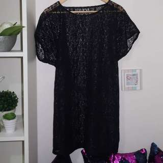 Cover up (black)