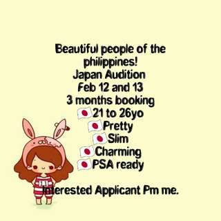 Looking for Japan Talent