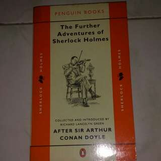 The further adventure of sherlock Holmes by Conan Doyle