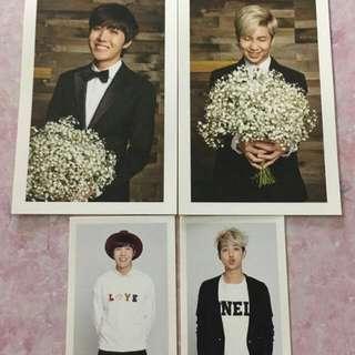 ARMY 二期 BTS Photocard 兩張一 set