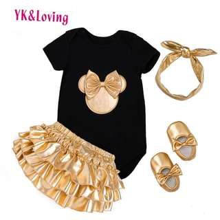 Baby Girl Clothes 4pcs