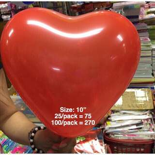 Heart Shape Balloon 10""