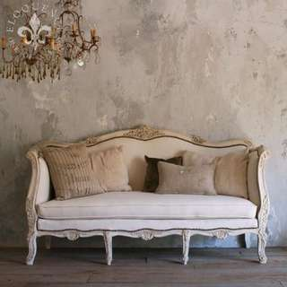 Traditional French Sofa