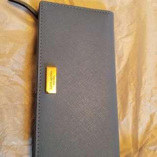 (New)Kate Spade baby blue long wallet 加拿大購藍色長銀包