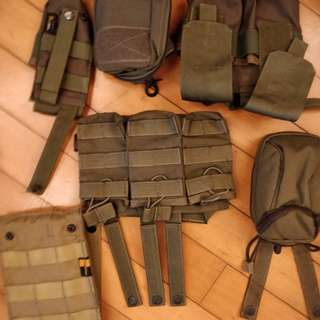 Airsoft wargame assorted carrier