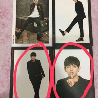 BTS TRB Post Card 每張
