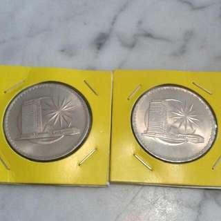 Malayasia $1 Coin