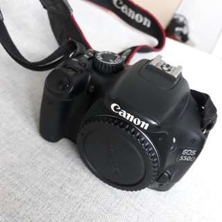 Canon EOS 550D body in great condition - no box