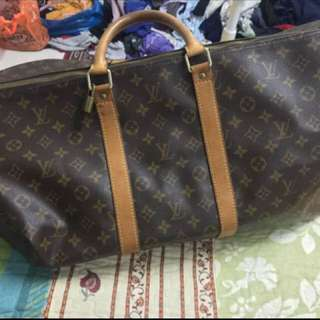 Authentic Louis Vuitton Keepall Bag 50 (nego)