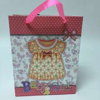 Party goodie bag - Baby Boy Baby Girl paper bag