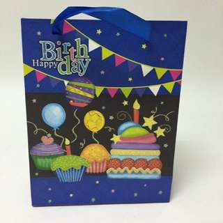 Party goodie bag - Birthday paper bag