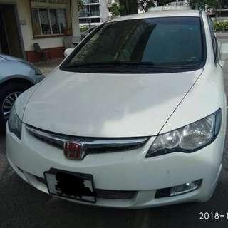 Honda Civic FD 1.8 Auto Pearl White